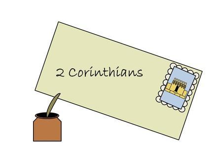 2 Corinthians. Paul is the author of 2 Corinthians 2 nd Corinthians is a follow-up letter. It is to the same Church members and also to the Saints living.