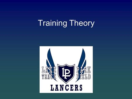 Training Theory. Topics Macro Approach to Speed Development Year broken down into 3 periods –General Prep –Specific Prep –Competition Period Within each.
