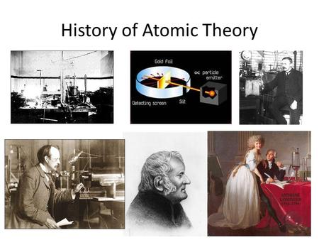 History of Atomic Theory. How has the structure of matter been understood throughout history? Everything is made of matter. Matter is anything with mass.