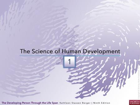 Defining Development The science of human development… - seeks to understand how and why people of all ages and circumstances change or remain the same.