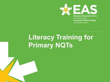 Literacy Training for Primary NQTs. The English and Literacy Team Tracey AbdullaSystem Leader – Literacy Bev Bannon Catherine McMahon Jane Crawley-Adams.