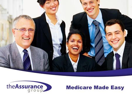 Medicare Made Easy. What is Medicare? A health insurance for beneficiaries meeting certain criteria: –65 and older –Under 65 with certain disabilities.