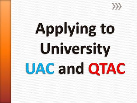 UACQTAC » Mostly NSW Uni's (Bond and Griffith included) » 9 preferences » SRS early entry system » Queensland Uni's (southern cross included) » 6 preferences.