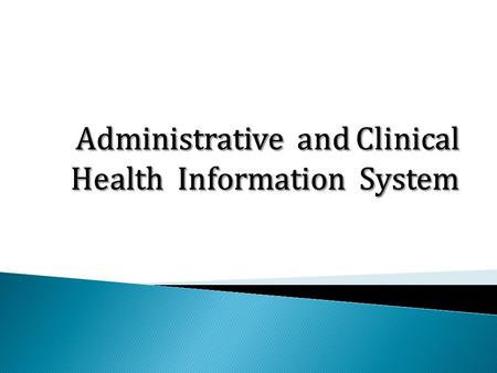 Both refer to a group of systems used within the hospital or enterprise that support and enhance health care.