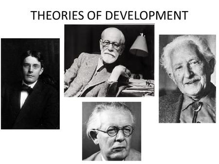 THEORIES OF DEVELOPMENT. Why learn about developmental theories ? Guides our thinking about how and what development occurs; describe/define concepts,