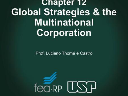 Globalization and multinational enterprises