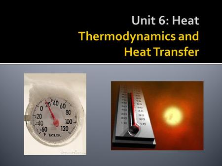 I can define temperature and heat and can describe the transfer of heat. Based on what you learned last week, how well can you: Define heat? Define temperature?