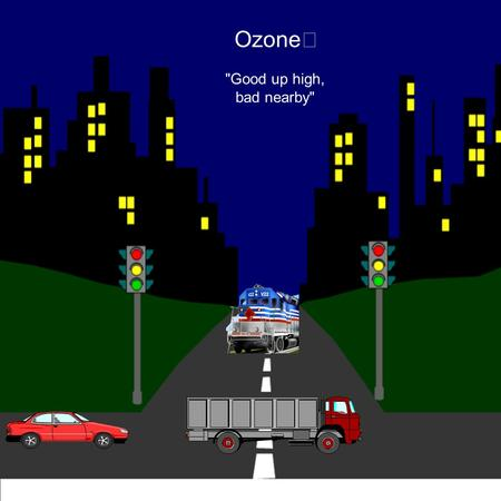 Ozone Good up high, bad nearby. Ozone is a gas that occurs both in the Earth's upper atmosphere and at ground level. Ozone can be good or bad for.