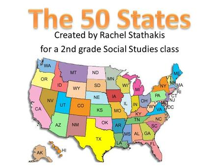 Created by Rachel Stathakis for a 2nd grade Social Studies class.