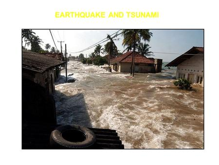 EARTHQUAKE AND TSUNAMI. BASIC CONCEPTS: THERMAL EVOLUTION OF OCEANIC LITHOSPHERE Warm mantle material upwells at spreading centers and then cools Because.