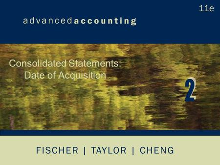 FISCHER | TAYLOR | CHENG Consolidated Statements: Date of Acquisition.