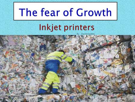 In this documentation I'm going to analyse the price of inkjet printers within the last five years, with factors like, the environment, laws and legislation,