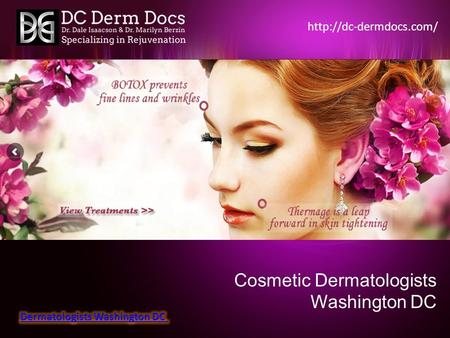 Cosmetic Dermatologists Washington DC