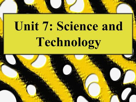 "Unit 7: Science and Technology. THE U.S. HEALTH CARE SYSTEM ""The health care system and the United States as a society stand as proxy for each other"""