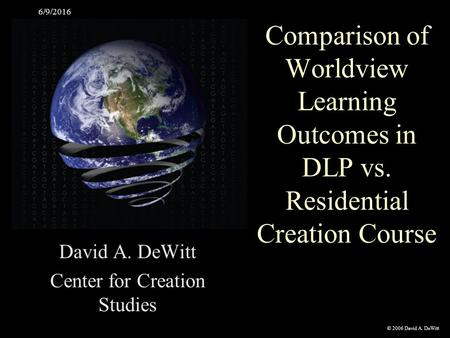 comparison theory of evolution vs creationism theory Creationism vs evolution theory to discuss contemporary creationism, i turn to the website and blog of albert mohler , the president of the southern baptist theological seminary — the flagship school of the southern baptist convention and one of the largest seminaries in the world.