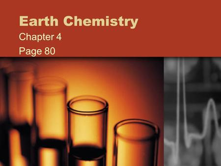 Earth Chemistry Chapter 4 Page 80 Matter Anything that has mass and takes up space Atoms are matter 132.