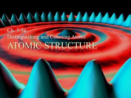 Homework atoms