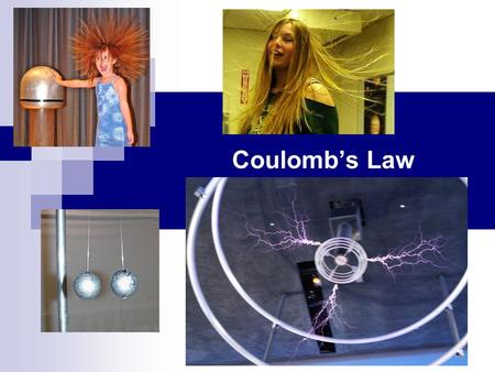 Coulomb's Law Chapter 21. 21.01 Distinguish between being electrically neutral, negatively charged, and positively charged and identify excess charge.