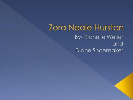 the power of will in their eyes were watching god a novel by zora neale hurston Zora neale hurston was born early in the novel, hurston tells her readers what to their eyes were watching god is the story of how janie achieves a strong.