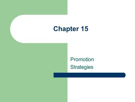 Chapter 15 Promotion Strategies. Chapter Outline The Role of Advertising Patterns of Advertising Expenditures Advertising and Regulations Advertising.