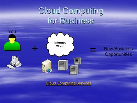Cloud Computing for Business Cloud Computing Services Cloud Computing Services.