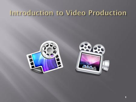 1. 2  Video is an excellent tool for delivering multimedia.  Video places the highest performance demand on computer and its memory and storage.  Digital.