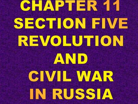 "Roots of the Russian Revolution 1881, reforms stop when Alexander II assassinated Alexander III strengthens ""autocracy, orthodoxy, and nationality"""