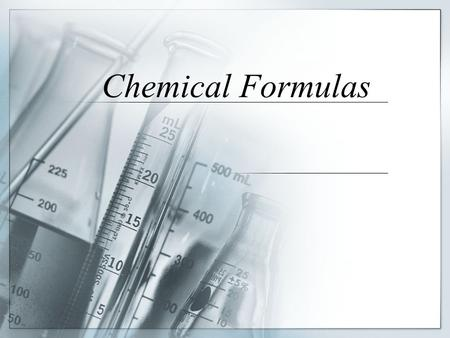 Chemical Formulas. Mass Percent Also known as percent composition. Shows the mass of each element in a compound as a percent of the total mass of the.