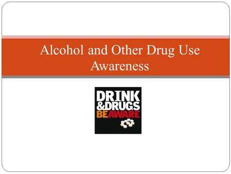 Alcohol and Other Drug Use Awareness. Today's Agenda  Discuss Common Reasons Teens Use Alcohol and Other Drugs (AOD)  Effects of AOD Use  Stages of.