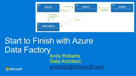 Andy Roberts Data Architect