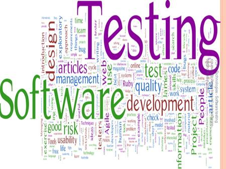 TOPS Technologies:- Software testing course:http://www.tops-int.com/software- testing-training.html.