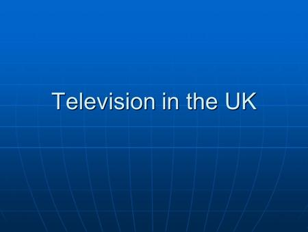 Television in the UK. Television Common channel position Channel name Original launch date 1 BBC One 1936 2 BBC Two 1964 3ITV1955 4 Channel 4 1982 5 Channel.