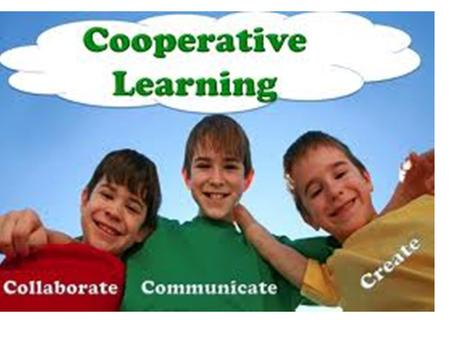 Definition In cooperative learning students work with their peers to accomplish a shared or common goal. The goal is reached through interdependence among.