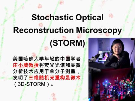 Stochastic Optical Reconstruction Microscopy (STORM)