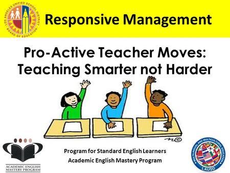 The academic english mastery program aemp essay