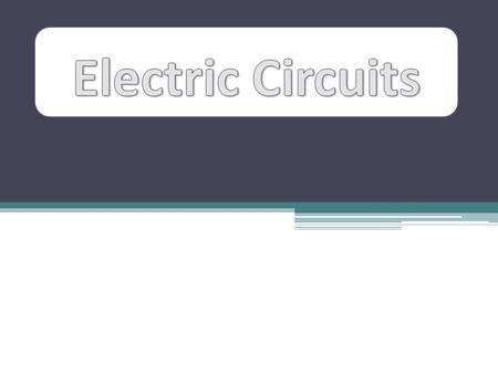 In the last chapter we examined how static electric charges interact with one another. These fixed electrical charges are not the same as the electricity.