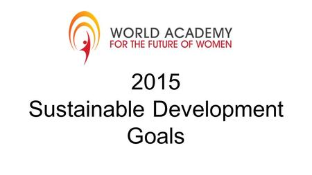 2015 Sustainable Development Goals. Goal 1: No Poverty.