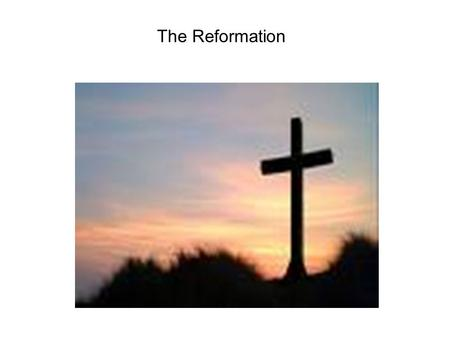 The Reformation. Key Terms (pg. 25 in your notebooks) Reformation- a movement in Western Europe when many Catholics broke away from the church and Protestant.
