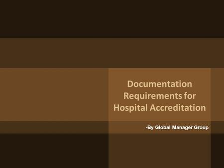 hospital accreditation essay 2018-5-22  palliative care: an ethical obligation  hospital palliative care services are often provided through an  the joint commission on accreditation of healthcare.