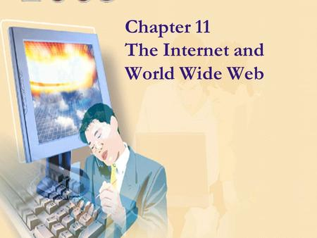 Chapter 11 The Internet and World Wide Web. The Internet These services are found on the Internet (How many do you use? How often do you use these services?