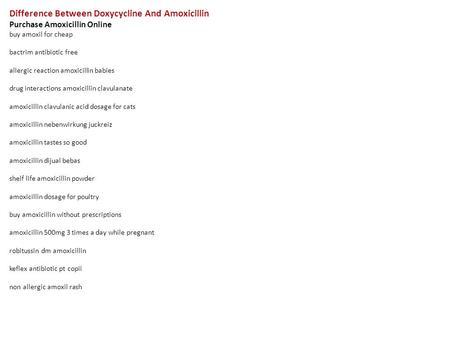 Order Amoxil Pills Cheap