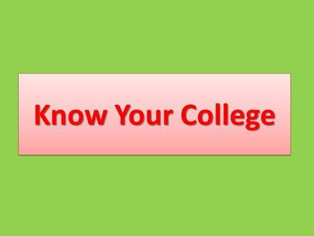 Know Your College Warm Welcome ToGiridih website – -