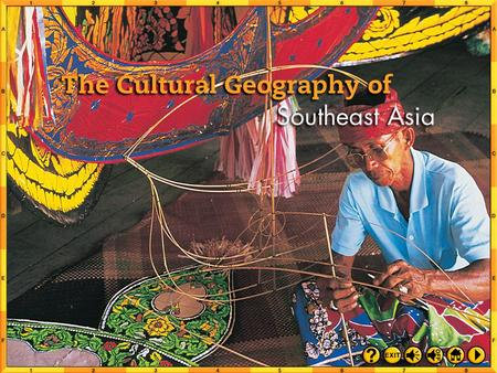 Intro 1 Chapter Objectives Recognize the various ethnic and religious influences on Southeast Asia's population and cultures. Understand the historical.