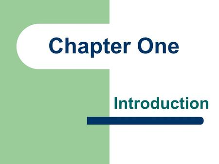 "Chapter One Introduction. 1. Meaning of Managerial Economics Managerial economics is ""the integration of economic theory with business practice for the."
