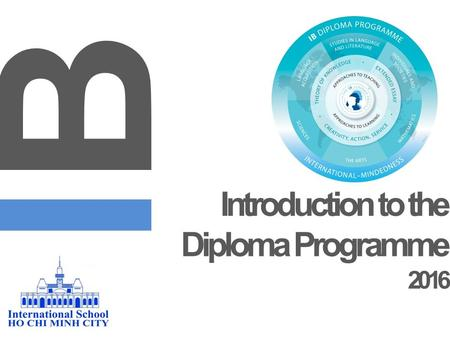 Introduction to the Diploma Programme 2016 IBIB. GRADUATING CLASS OF 2015.