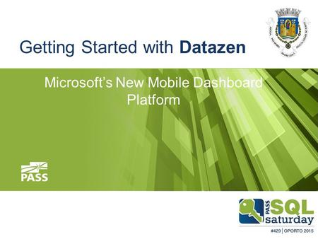 Getting Started with Datazen Microsoft's New Mobile Dashboard Platform.