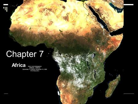 Chapter 7 Africa. Development of Civilization in Africa  After Asia, Africa is the largest of the continents.  Altogether, deserts cover about 40 percent.