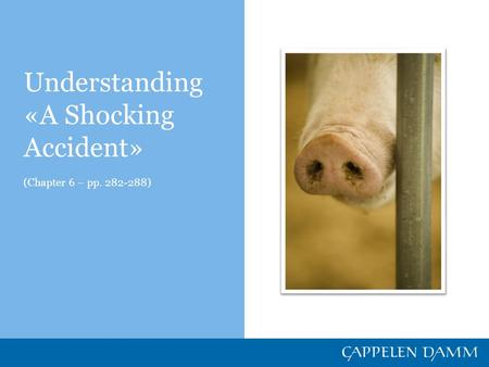 Understanding «A Shocking Accident» (Chapter 6 – pp. 282-288)