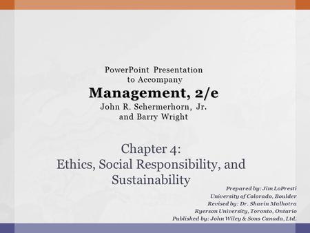 management third canadian edition schermerhorn wright pdf