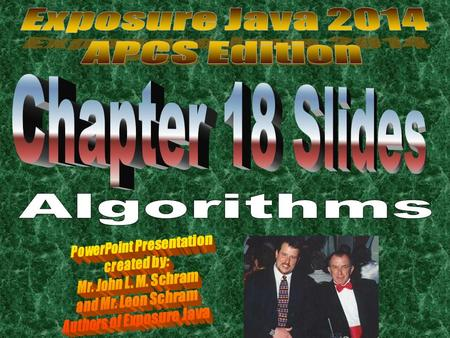 Algorithm Definition An algorithm is a step-by-step solution to a problem.